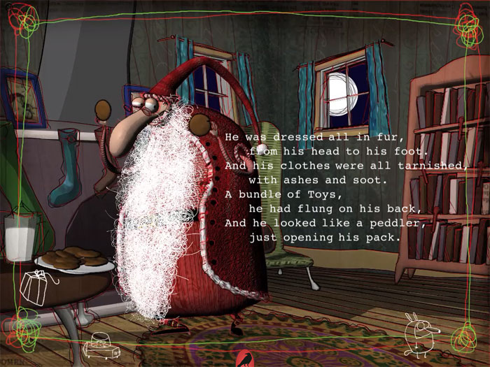 this is the best thing that couldve happened to ebooks for christmas an awesome way to experience the classic xmas poem mt is setting a new standard - The Night Before Christmas Trailer